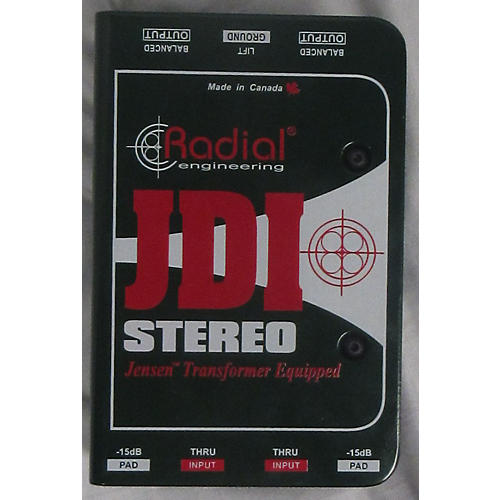 Radial Engineering JDI Stereo Direct Box