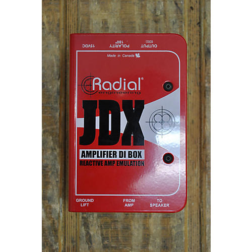 Radial Engineering JDX AMPLIFIER DI BOX Direct Box