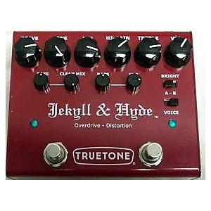 Pre-owned Truetone JEKYLL and HYDE V3 OVERDRIVE and DISTORTION PEDAL Effect Peda... by Truetone