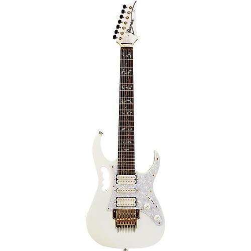 Ibanez JEM7V7 Steve Vai Signature 7-String Electric Guitar White