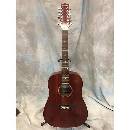 Johnson JG-D 1012N 12 String Acoustic Guitar