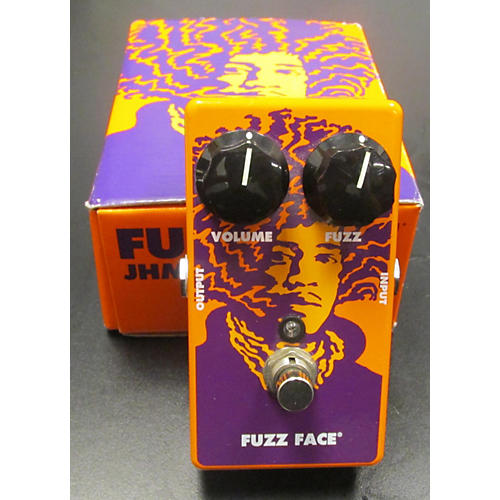 Dunlop JHM1 Jimi Hendrix Signature Fuzz Face 70th Anniversary Effect Pedal