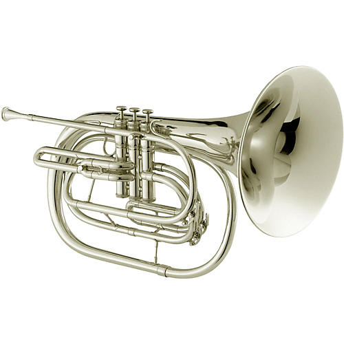 Jupiter JHR1000M Qualifier Series Bb Marching French Horn Silver