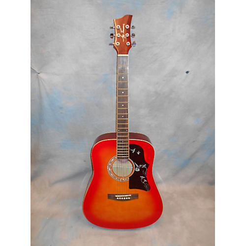 Jay Turser JJ41DEQKITCSB Acoustic Electric Guitar-thumbnail