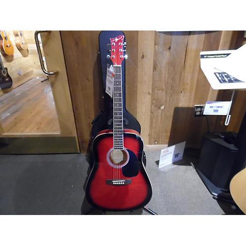 Jay Turser JJ45F-RSB Acoustic Guitar