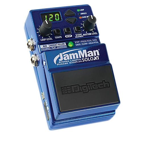 Digitech JMSXT JamMan Solo XT - Stompbox Looper with Stereo I/O and Sync