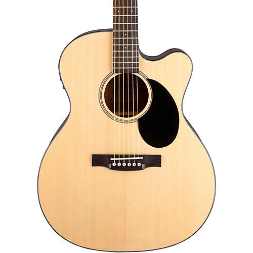 Jasmine JO-36CE Cutaway Orchestra Acoustic Electric Guitar-thumbnail
