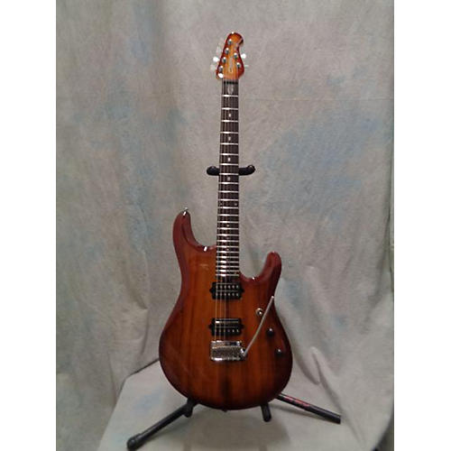 Sterling by Music Man JP 100d Koa Solid Body Electric Guitar