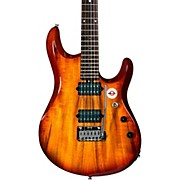 Sterling by Music Man JP100D John Petrucci Signature Series Koa Top Dimarzio Pickups Electric Guitar