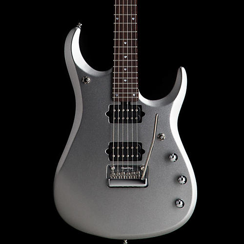 Ernie Ball Music Man JP13 6-String Electric Guitar Platinum Silver Rosewood Neck & Fretboard