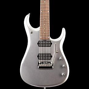 ernie ball music man jp13 john petrucci 7 string electric guitar platinum silver guitar center. Black Bedroom Furniture Sets. Home Design Ideas