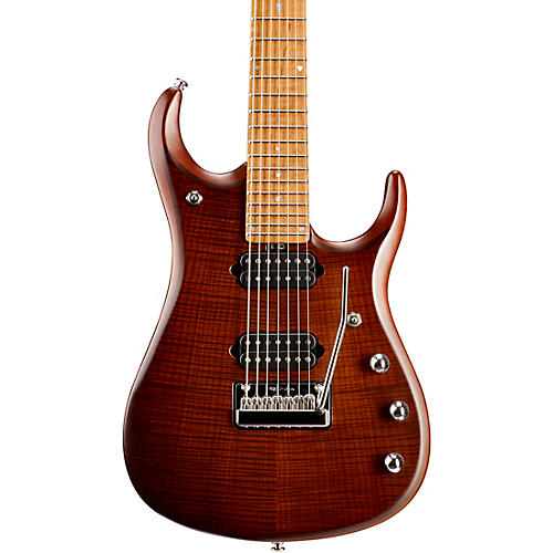 Ernie Ball Music Man JP15 Roasted Flame Maple Top Seven-String Electric Guitar-thumbnail