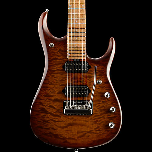 Ernie Ball Music Man JP15 Roasted Quilt Maple Top Seven-String Electric Guitar-thumbnail