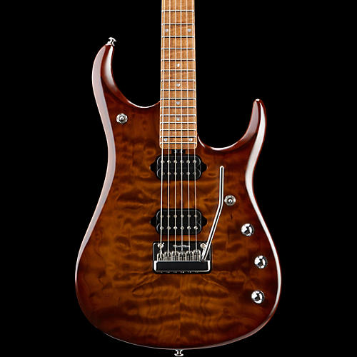 Ernie Ball Music Man JP15 Roasted Quilt Maple Top Six-String Electric Guitar Sahara Burst