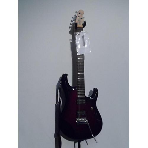 used ernie ball music man jp6 john petrucci signature electric guitar crimson red burst guitar. Black Bedroom Furniture Sets. Home Design Ideas