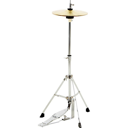 CB Percussion JRX07C Mini Hi Hat Stand with cymbals-thumbnail