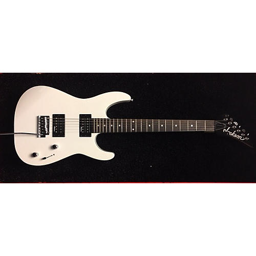 Jackson JS 10 Dinky Snow White Solid Body Electric Guitar