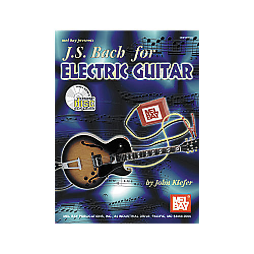 Mel Bay JS Bach for Electric Guitar Book/CD