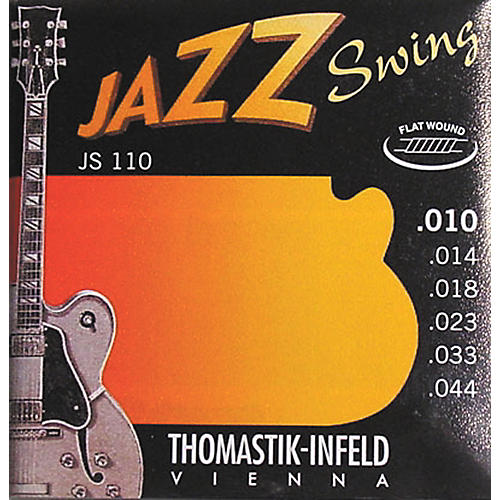 Thomastik JS110 Flatwound Extra Light Jazz Swing Guitar Strings-thumbnail