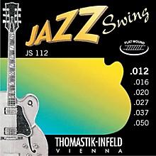 Thomastik JS112 Medium Light Flatwound Jazz Swing Electric Guitar Strings