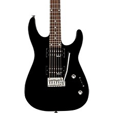 JS12 Electric Guitar Gloss Black Rosewood