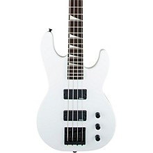 JS2 JS Series Concert Electric Bass Guitar Snow White