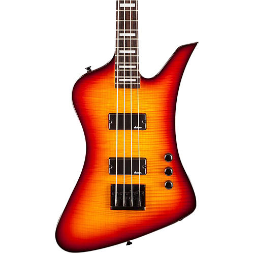 Jackson JS2 Kelly Bird IV Electric Bass Burnt Cherry Sunburst Rosewood Fingerboard