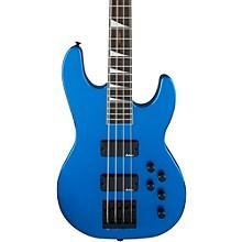 JS3 JS Series Concert Electric Bass Guitar Metallic Blue