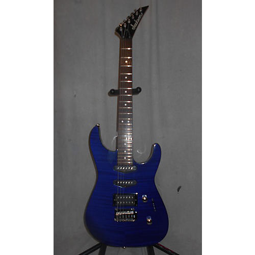 Ibanez JS30DK Solid Body Electric Guitar Trans Blue