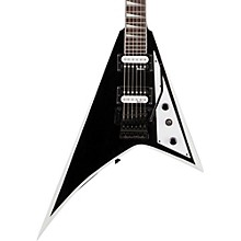 JS32 Rhoads Electric Guitar Black with White Bevel