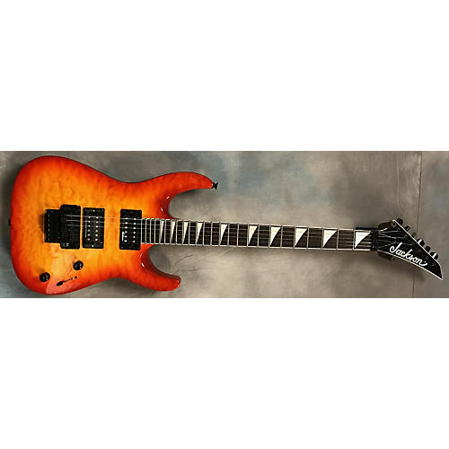 Jackson JS32TQ Dinky Solid Body Electric Guitar-thumbnail