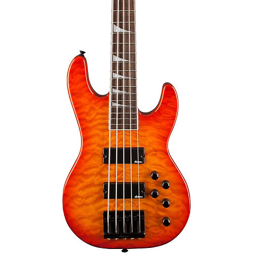 Jackson JS3V Concert 5-String Bass with Quilted Maple Top-thumbnail