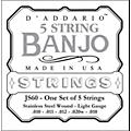 D'Addario JS60 Stainless Steel Light Banjo Strings  Thumbnail