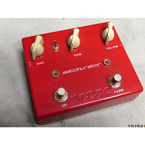 Vox JSDS Joe Satriani Satchurator Distortion Effect Pedal-thumbnail