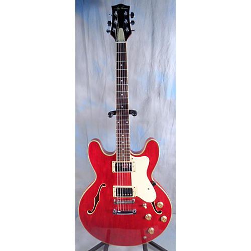 used jay turser jt133 hollow body electric guitar guitar center. Black Bedroom Furniture Sets. Home Design Ideas