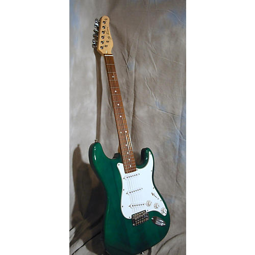 Jay Turser JT300 Solid Body Electric Guitar Green