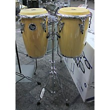 LP JUNIOR WOOD CONGAS W STAND
