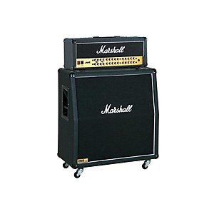 Marshall JVM Series JVM410H 100 Watt Guitar Tube Head with 1960A 300 Watt 4x12 Cab