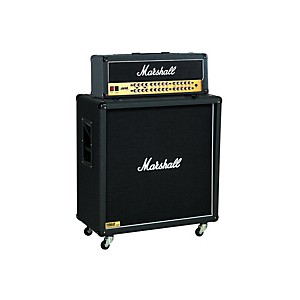 Marshall JVM Series JVM410H 100 Watt Guitar Tube Head with 1960B 300 Watt 4x12 Cab