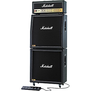 Marshall JVM410 Head with 1960A and 1960B Tube Guitar Full Stack Regular by Marshall