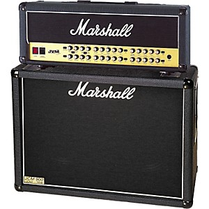 Marshall JVM410H and 1936 2x12 Tube Guitar Half Stack by Marshall