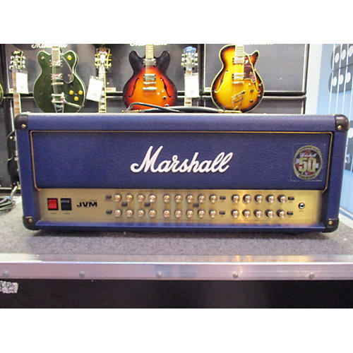 Marshall JVM410HJS Joe Satriani Signature Tube Guitar Amp Head-thumbnail