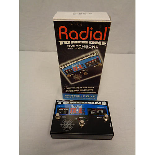 Radial Engineering JX2 Switchbone Class A ABY With Boost Pedal-thumbnail
