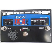 Radial Engineering JX2 Switchbone Class A ABY With Boost Pedal