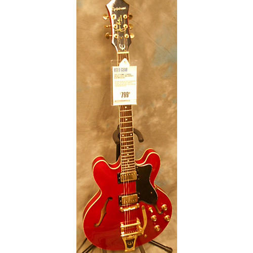 Epiphone Ja-riviera Deluxe Hollow Body Electric Guitar-thumbnail