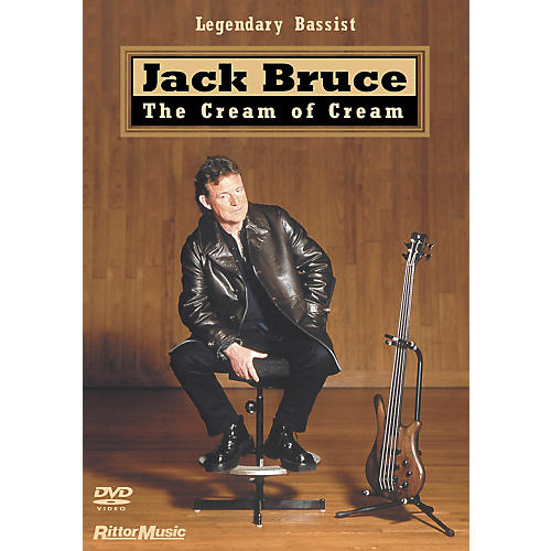 Hal Leonard Jack Bruce - The Cream of Cream Bass DVD
