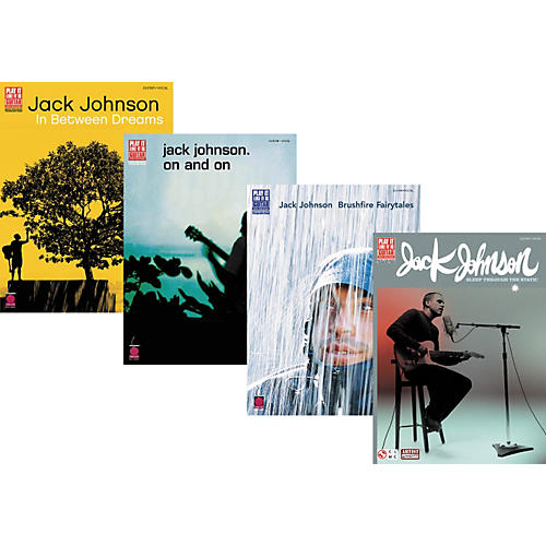 Cherry Lane Jack Johnson Complete Guitar Tab Library