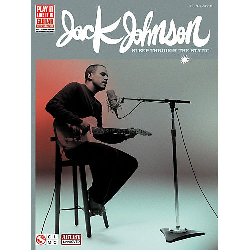 Cherry Lane Jack Johnson Sleep Through the Static Guitar Tab Songbook-thumbnail