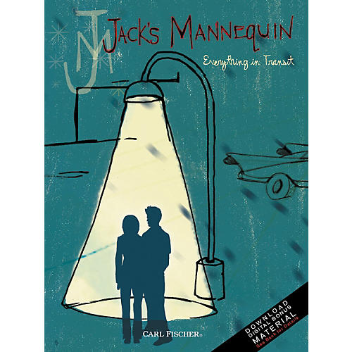 Carl Fischer Jack's Mannequin Songbook - Everything in Transit