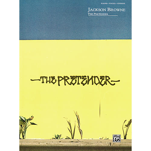 Alfred Jackson Browne: The Pretender - Piano, Vocals, & Chords (Book)-thumbnail